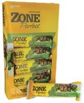 Zone Perfect Nutrition Bars Chocolate Mint -- 12 Bars