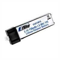 E-flite 150mAh 1-Cell 3.7V 12C Li-Po