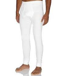 Mens Thermal Long Johns Warm Underwear White Sky Blue S-XXL