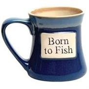 Born To Fish Ceramic Mug - 20 Oz.