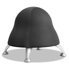 "** Runtz Ball Chair, 12"" Diameter X 17"" High, Licorice Black front-301572"