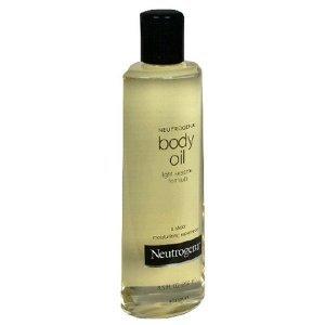 2x Neutrogena Body Oil Original Light Sesame Formula - USA
