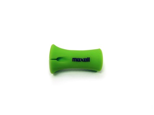Maxell 190912 Cm-G Cord-It Mini Cable Wrap, Green