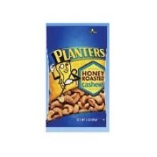 Planters Honey Roasted Cashew Nut, 2 Ounce -- 45 Per Case.