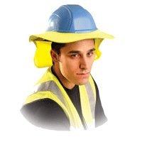 Hard Hat Sun Shade Neck guard - Yellow - Occunomix