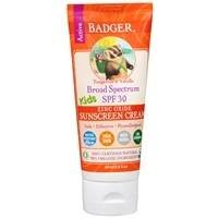 Badger Balm SPF 30 Kids Sunscreen Cream, 2.9 Ounce