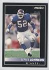 Pepper Johnson New York Giants (Football Card) 1992 Pinnacle Samples #5 front-681004