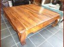int. d'ailleurs - coffee table opium 120x120x45 - PAL174