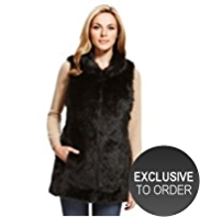 M&S Collection Faux Fur Gilet