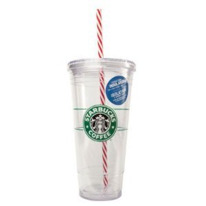 Starbucks Cup With Straw front-493095