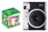 FUJIFILM インスタントカメラ チェキ INS MINI 90 ネオクラシック&チェキフィルム50枚セット