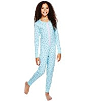 Pure Cotton Ditsy Floral Soft & Cosy Onesie