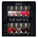 OPI Nail Polish Lacquer - The Top Ten Mini Gift Set