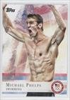 Michael Phelps (Trading Card) 2012 Topps U.S. Olympic Team and Olympic Hopefuls #100