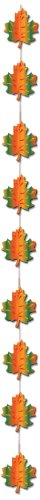 Fall Leaf Stringer Party Accessory (1 count) (1/Pkg)