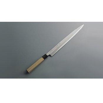 柳刃庖丁 銀三鋼 兼松作 27cm