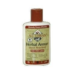 Buy : All Terrain Herbal Armor DEET-Free Natural Insect Repellent Lotion (4 -Ounce.)