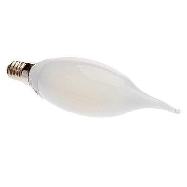 E14 2W 3000 Warm White Light Led Milky Wax Tail Lamp (230V)