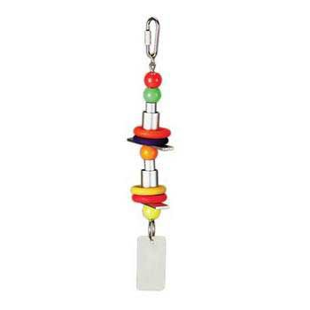 Cheap 2 Pack Chime Time Twister Toy For Sm/med Birds (Catalog Category: Bird / Toys-plastic & Acrylic) (BPV62136)