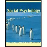 img - for Social Psychology, Fifth Edition book / textbook / text book