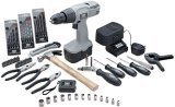 18V Cordless Drill with 69 pc. Tool Set
