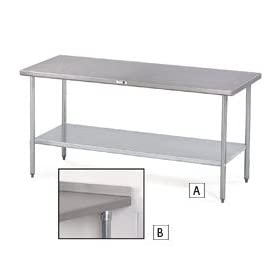 Economical Type 430 Stainless Steel Worktables