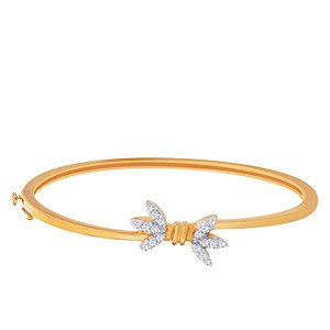 Rivaaz Gold CZ Bangle RZB00024