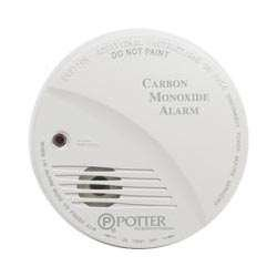 Potter Electric CO-1224 CO Detector with Trouble Relay smoke alarm 4 wire conventional smoke detector non coding detector 4 wire detector with relay output