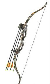 Youth Camo Deluxe Archery Recurve Bow