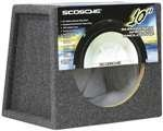 Scosche Se10 10-Inch Sealed Subwoofer Enclosure