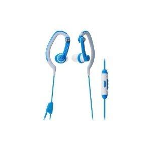 AUDIO TECHNICA ATH-CKP200ISBL / ATH-CKP200iS SonicSport In-Ear Headphones ( Earphone ) for Smartphones [parallel import goods]