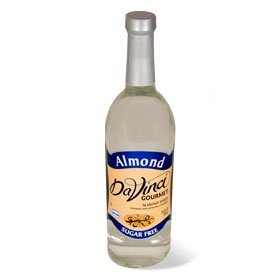DaVinci Gourmet Almond Sugar Free Syrup, 750 ml Plastic Bottle