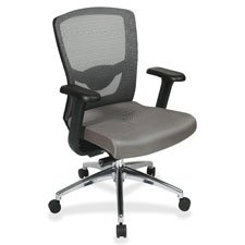 Lorell High-Back Executive Chair, 23-3/4 by 38-1/2 by 42-1/4-Inch, Gray