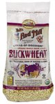 One 16 oz (1 lb) 453 g Organic Whole Grain Buckwheat Groats, Gluten Free
