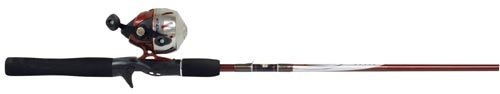 Zebco 202 Stainless Steel Spincast 602M Fishing Rod and Reel Combo (Zebco 202 Spincast Combo compare prices)
