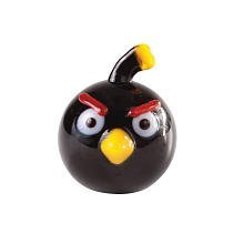 Angry Birds 1 Inch Glass Mini Figure Limited Edition Black Bird - 1