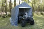 Storage canopy and shelter 7 x 12 great for Golf cart garage door prices
