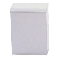 Impact Products 1112 Metal Sanitary Napkin Receptacle, White