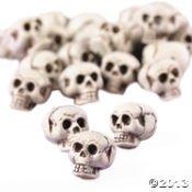 "Spooky Halloween Mini Skulls ~ 24 Pieces ~ 1"" from McToy"