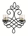 Lille wall art sconce tealight candle holder