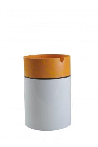 Posacenere in metallo a forma di sigaretta, disponibile in varie dimensioni. Decora e arreda la tua casa (7,5 Centimetri, 11,3 Centimetri)