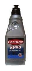 Clarik Carlube Ep90W Hypoid Gear Oil 1Ltr