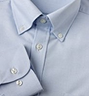 Pure Cotton Quick Iron Oxford Weave Shirt