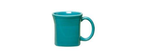 Fiesta 13-Ounce Square Mug, Lemongrass