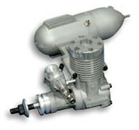 AVIASTAR .46 2 Stroke Glow Engine and Muffler by SIG