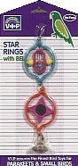 Cheap Vo-Toys Star Ring with Ball and Bell Bird Toy (814-07741)