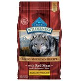 Blue Wilderness Rocky Mountain Recipe Healthy Weight Adult Dry Dog Food 4lb