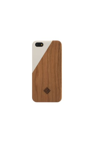 Special Sale Clic Wooden iPhone 5 / 5s Case - White / Wood