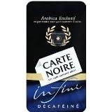 Carte Noire Arabica Decaffeinated Coffee 250Gby Carte Noire