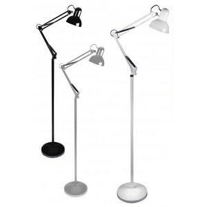 Lampe sur pied lampadaire architecte orientable pour - Ventilateur colonne ou sur pied ...